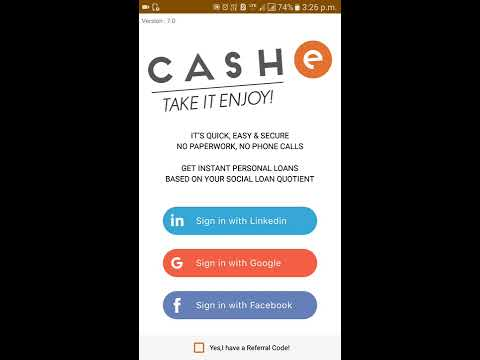 Cash E How to Get personal Loan only 1 minutes || How to make money online
