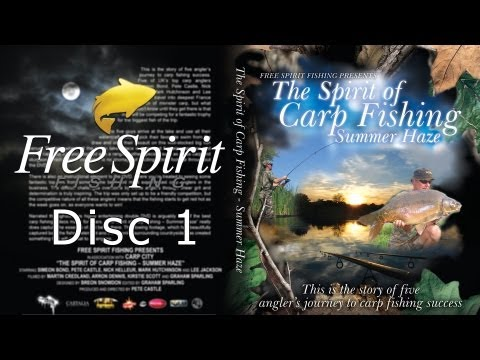 CARP FISHING - FREE SPIRIT SUMMER HAZE DVD FULL (DISC 1)