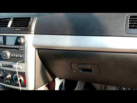 2007 Chevrolet Cobalt chevy hhr pontiac g5 ac drain wet passenger floor fix