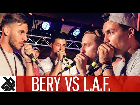 BERY vs L.I.A.F.  |  WBC Tag Team Battle  |  FINAL