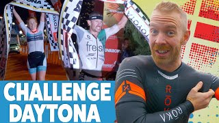Challenge Daytona Sprint Win & Pro Wins by Lionel Sanders and Paula Findlay