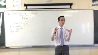 Application of Series Example Question (2 of 3: Generalising the Series)