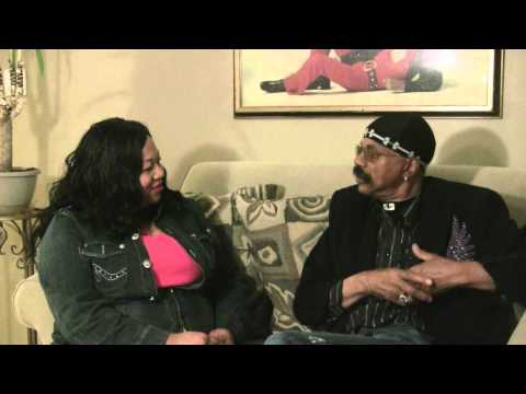 Salima speaks to Wilbert Hart of the original Delfonics