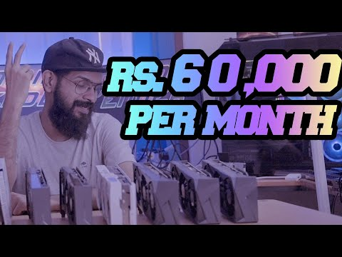 Bitcoin Mining in KERALA : WE MAKE 60K a month in crypto! Mining Rig Build Profitability & Earnings