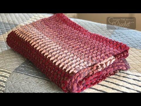 Crochet TV Blanket