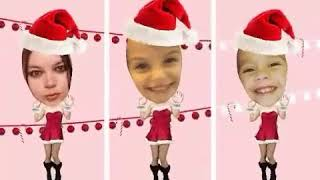 My funny family holiday spirt dance...