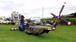 RC BIG SCALE Helicopter CH53 Heer RC thumbnail