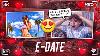 E-Date w/ Hot Girl Gone Sexual - Crazy E-Date w/ FearLeah
