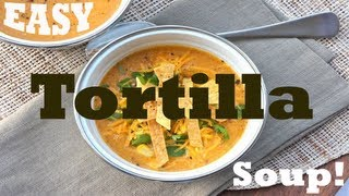 Blendtec -  Easy Tortilla Soup!!