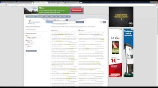 Comment utiliser un dictionnaire en ligne pour traduire de l'anglais vers le français ?