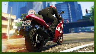 GTA 5 Stunts - Epic Motorbike Stunt! - (GTA V Stunts & Fails)