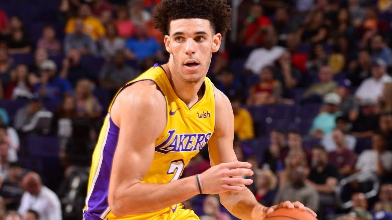Lonzo Ball Bounces Back 2nd Game! 29 Pts 11 Rebs 9 Asts Lakers vs Suns  2017-18 Season 343942be1d7