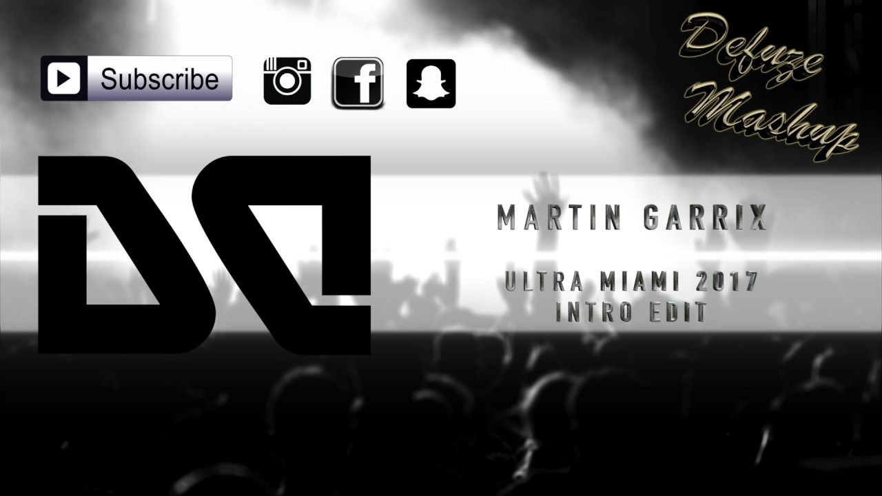 Martin Garrix - Ultra Miami 2017 // Intro Edit