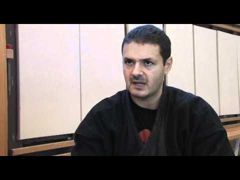 Dr. Kacem Zoughari  On Ninjutsu Minidocumentary