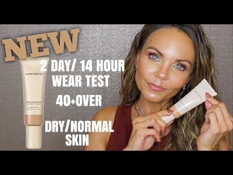 LAURA MERCIER NEW TINTED MOISTURIZER REVIEW | 2 DAY/ 12 HOUR WEAR TEST thumbnail