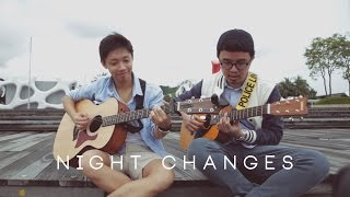 Video Night Changes - One Direction (Cover) by Christian Bong and Shawne Koh download MP3, 3GP, MP4, WEBM, AVI, FLV Maret 2017