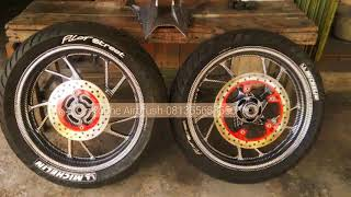 Yoshe Airbrush.. Create n Model Paint of Velg..