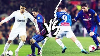 The huge gap between Leo Messi and Cristiano Ronaldo in terms of successful dribbles | Oh My Goal