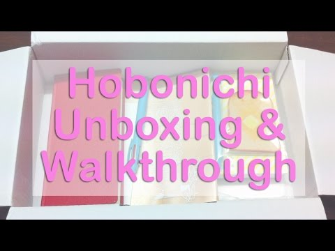 Hobonichi Planner Unboxing
