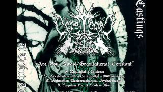 Ceremonial Castings - Are You Afraid - Gravitational Constant (Type O Negative cover)