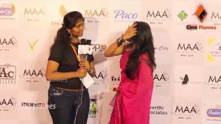 Kana Kanum Kalangal Actress Jacqueline talks about Maa Show | MAA 2014 - Mother Above All