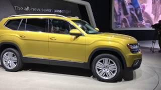 Volkswagen Atlas  // Лос-Анджелес 2016 // Автовести Online