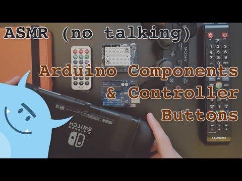 ASMR (no talking) - Arduino & Controller Buttons Sound Textures