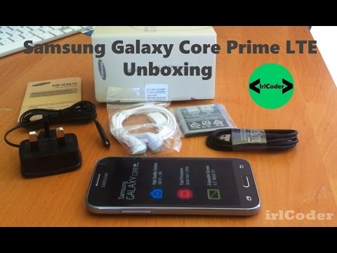 Samsung Galaxy Core Prime LTE Unboxing