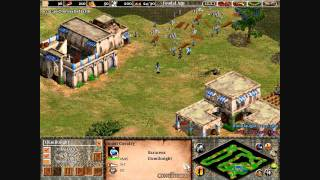 Age of Empires 2 The Conquerors: How To Rush Tutorial/Rush Defense Narrated Part 1/2