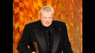 Brian Dennehy Wins Best Actor Mini Series or TV Movie - Golden Globes 2001