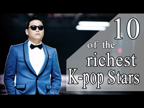 10 OF THE RICHEST K-POP STARS - TOP RICHEST KPOP STARS - insurance