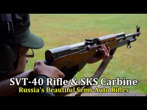 SVT-40 Rifle & SKS Carbine | Russia
