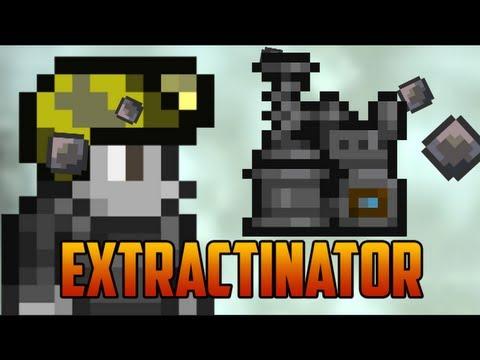 Terraria 1.2 - Extractinator, turns Silt & Slush into minerals/gems