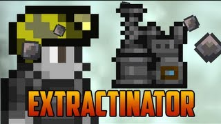Terraria 1.2 - Extractinator, turns Silt & Slush into minerals/gems