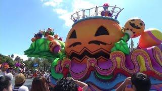 Tokyo Disneyland Halloween parade 2016 'Halloween Pop'n Live'. Toky...