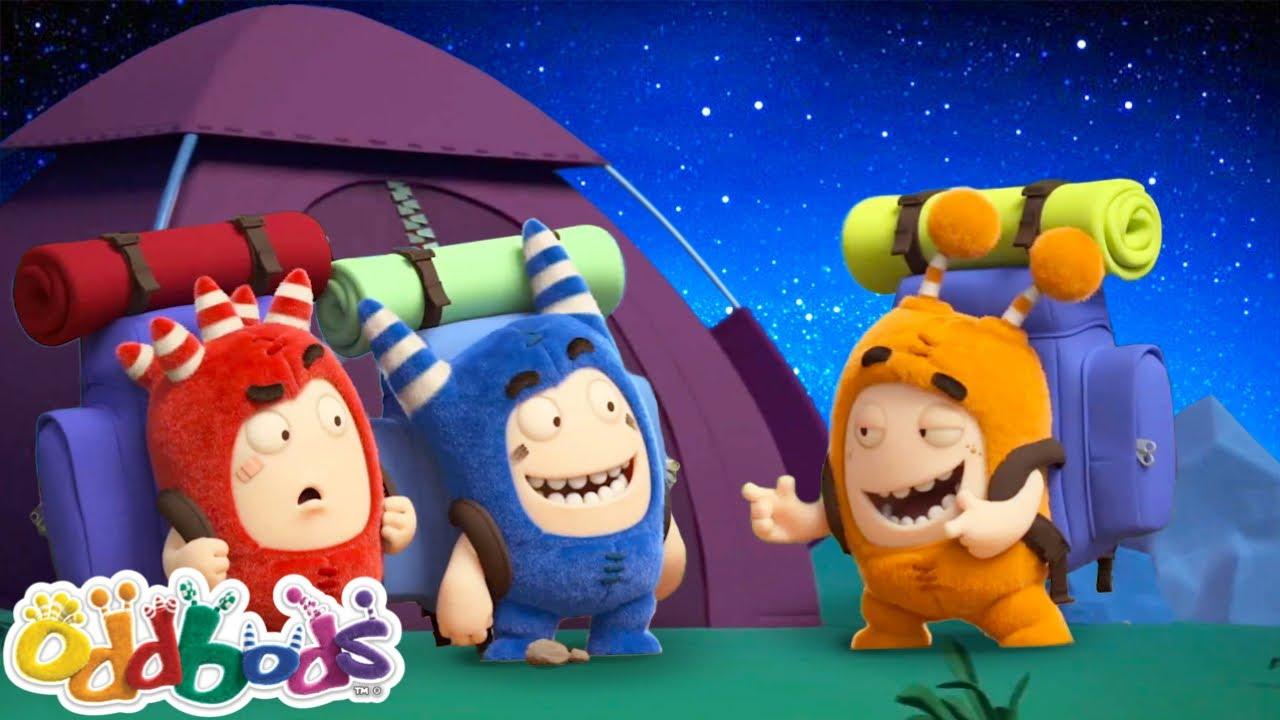 Oddbods | NEW | Summer Сamp | Funny Cartoons For Kids