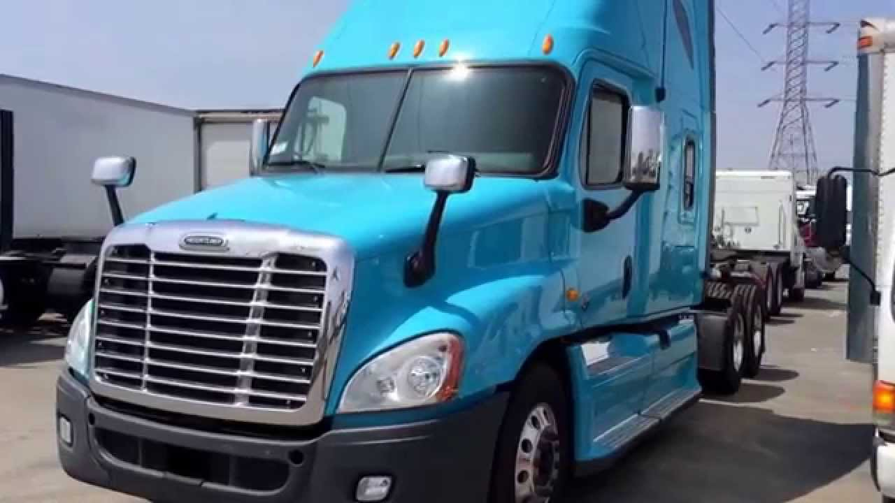 2011 Freightliner Cascadia Condo Sleeper For Sale California APU