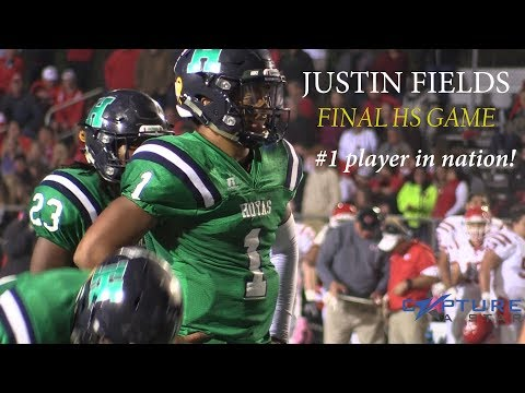 Justin Fields FINAL High School Football Game Highlights