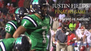 Justin Fields FINAL High School Football Highlights