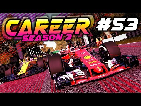 F1 2017 Career Mode Part 53: TRYING TO KEEP UP WITH VETTEL!