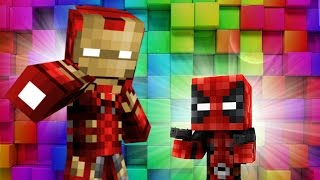 Minecraft - WHO'S YOUR DADDY? - BABY BLOWS UP IRONMAN & CAPTAIN AMERICA!