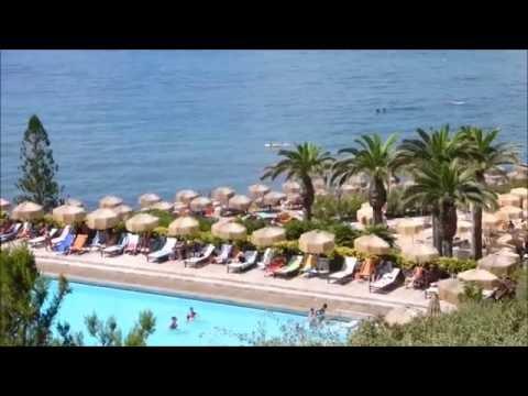 Italy island ischia thermal park giardini stock photo edit now