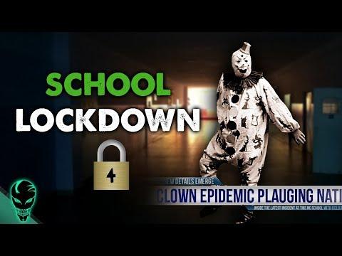 Creepy Clown School Lockdown: Epidemic | Al Dente Creepypasta 16