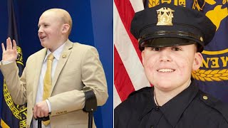 16-Year-Old Boy With Terminal Cancer Fulfils Dream of Becoming Police Detective