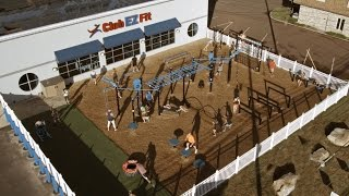 Outdoor Fitness Playground for Group Functional Training