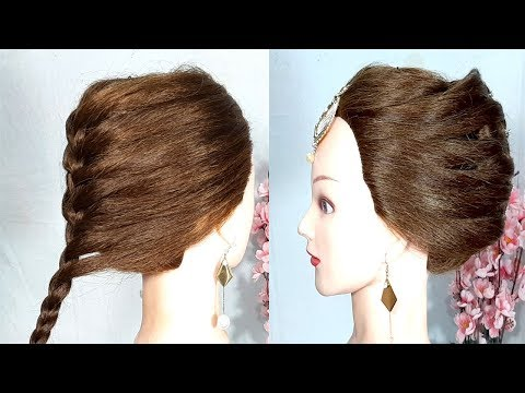 unique-layered-hairstyle-with-trick-  -party-&-wedding-hairstyles-  -easy-hairstyles-  -hairstyles