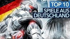 Top 10 Spiele aus Deutschland