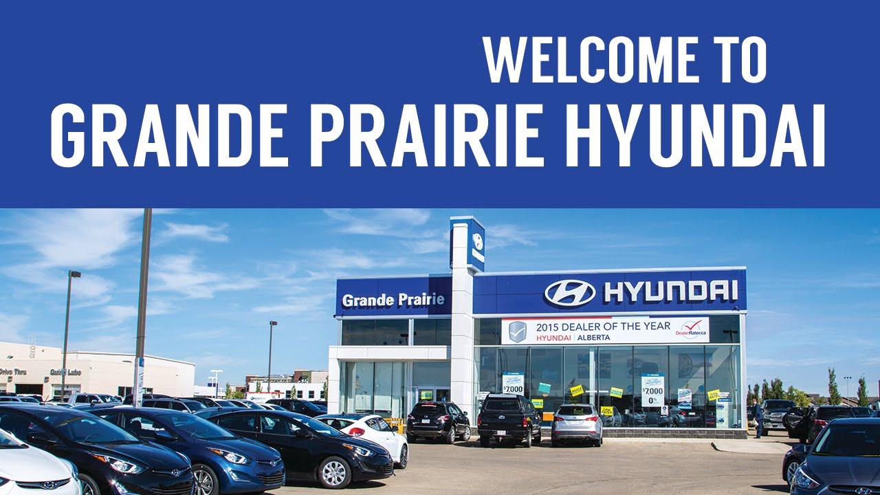 Grande Prairie Hyundai >> Grande Prairie Hyundai Dealership In The Greater Grande Prairie Area
