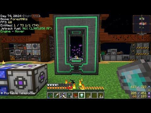 Minecraft - Project Ozone 2 #43: Mekanism Teleporter