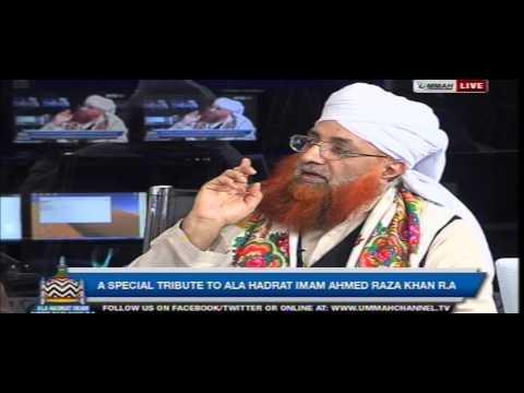 18.12.14 Urs Imam Ahmad Raza Khan Barelvi @ ummah channel live